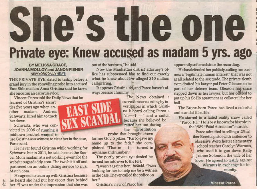 Private Eye: Knew Accused as Madam 5 Yrs. Ago